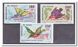 Tsjaad 1970, Postfris MNH, Birds - Tsjaad (1960-...)
