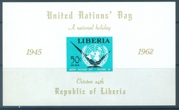 LIBERIA  - 1944 - MNH/**  -  NATIONAL HOLIDAY -  Yv BLOC 25 - Lot 17079 - Liberia