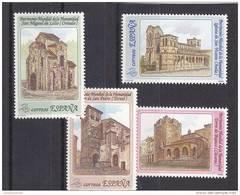 España Nº 3092 Al 3095 - 1981-90 Nuevos & Fijasellos
