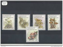 CHRISTMAS 1984 - YT N° 189/193 NEUF SANS CHARNIERE ** GOMME D'ORIGINE LUXE - Christmas Island