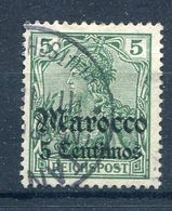 Deutsche Post In Marokko  LOT     Mi.  20  O/used  Siehe Bilder - Offices: Morocco