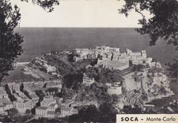 Monaco,monté-carlo,le Rocher En 1956,soca,au Dos Pub Implant  D'amnios,j Y Lausseure ,docteur En Pharmacie,rare - Monaco