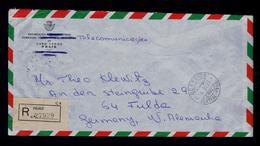Cabo Verde Cap Vert Praia 1975 Official PTT Mail Cover Courrier Poste Sp5270 - Cape Verde