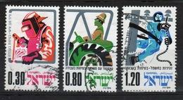 Israel Set Of Stamps From 1975 To Celebrate Occupational Safety. - Israel