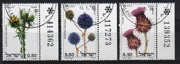 Israel Set Of Stamps From 1980 To Celebrate Thistles. - Israel