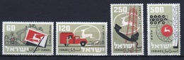 Israel Set Of Stamps From 1959 To Celebrate Tenth Anniversary Of Israel's Postal Service. - Israel