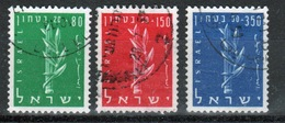 Israel Set Of Stamps From 1957 To Celebrate Defence Fund. - Israel