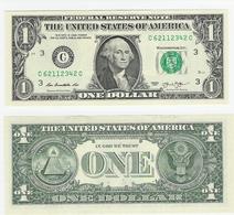 USA  1 Dollar 2013 Philadelphia UNC - Federal Reserve Notes (1928-...)