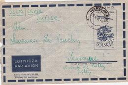 Brief In Die Schweiz (br4589) - Airplanes