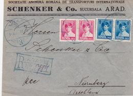 Ausschnitt / Vorderseite (br4590) - 1918-1948 Ferdinand, Carol II. & Mihai I.