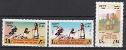 Egypt MNH Michel Nr 1974/76 From 1999 / Catw 3.00 EUR - Ongebruikt