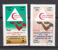 Egypt MNH Michel Nr 1977/78 From 1999 / Catw 1.30 EUR - Ongebruikt