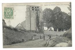 15/ CANTAL...Eglise De CEZENS ( XVIe ), Près Pierrefort... ANIMEE - France