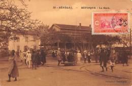 CPA SENEGAL RUFISQUE LA GARE TENNEQUIN - Sénégal