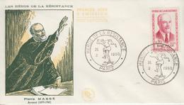 Enveloppe  FDC   FRANCE  1er  Jour  Héros  De  La  Résistance   Pierre  MASSE   PARIS    1960 - 1960-1969