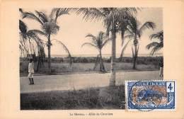 CPA REPUBLIQUE FRANCAISE CONGO LA MISSION ALLEE DE COCOTIERS - Congo Français - Autres