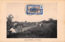 CPA REPUBLIQUE FRANCAISE CONGO ROUTE DE M'PIAKA AU PATURAGE - Congo Français - Autres