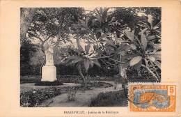 CPA REPUBLIQUE FRANCAISE CONGO  BRAZZAVILLE JARDINS DE LA RESIDENCE - Brazzaville