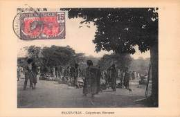CPA REPUBLIQUE FRANCAISE CONGO  BRAZZAVILLE  COLPORTEURS HAOUSSAS - Brazzaville