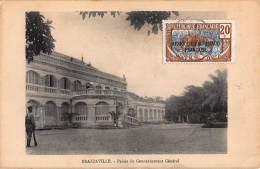 CPA REPUBLIQUE FRANCAISE CONGO  BRAZZAVILLE  PALAIS DU GOUVERNEMENT GENERAL - Brazzaville