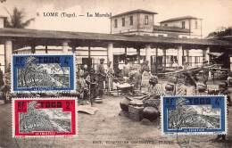 CPA LOME TOGO LE MARCHE LE COCOTIER - Togo