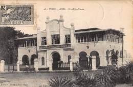 CPA TOGO LOME HOTEL DES POSTES - Togo