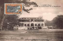 CPA TOGO LOME  PAVILLON DU COMMISSAIRE DE LA REPUBLIQUE - Togo
