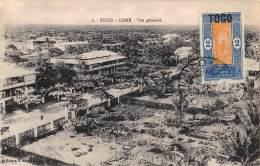 CPA TOGO LOME  VUE GENERALE - Togo