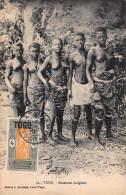 CPA TOGO DANSEUSES INDIGENES FILLE NU NUE NUDE GIRL - Togo