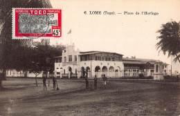 CPA TOGO LOME PLACE DE L'HORLOGE - Togo