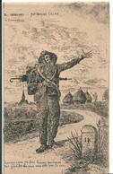"""Le  Chemineau  """"  Chanson Par Henri Colas  """"     Illustrateur   F . Combes  1913 - Illustrateurs & Photographes"""