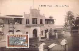 CPA TOGO LOME  BUREAU DE POSTE - Togo