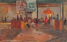 CPA GOLD COAST GHANA RAPHAEL TUCK A NATIVE COURT IN THE GOLD COAST ILLUSTRATEUR ARTIST SIGNED CHEESMAN - Ghana - Gold Coast