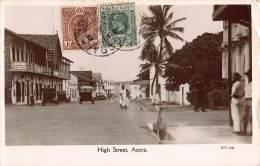 CPA GOLD COAST GHANA ACCRA GOLD COAST PHOTO HIGH STREET - Ghana - Gold Coast