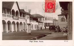 CPA GOLD COAST GHANA  PHOTO HIGH STREET ACCRA - Ghana - Gold Coast