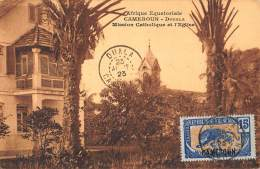 CPA AFRIQUE EQUATORIALE CAMEROUN DOUALA MISSION CATHOLIQUE ET L'EGLISE - Cameroun