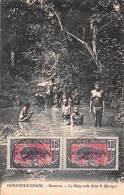 CPA CONGO FRANCAIS OUBANGUI CHARI DAMARA LA BAIGNADE DANS LE MARIGOT FILLE GARCON NU NUE NUDE BOY GIRL - Congo Francese - Altri