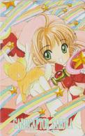 Télécarte Japon / 110-016 - MANGA - CLAMP - CARDCAPTOR SAKURA ** ONE PUNCH ** - Japan Phonecard - MOVIC - 10215 - Comics