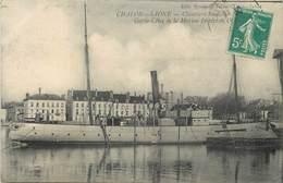 CHALON SUR SAONE - Chantier Schneider, Garde Cotes De La Marine Impériale. - Guerre