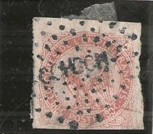 EEmission Générale - Aigle Impérial  -- N° 6 -- 80cts Rose   -  Côte 70€ Bord Ou Coin De Feuille + Oblitération - Aigle Impérial