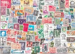 T VRAC - Monde, 4500 Timbres TOUS DIFFÉRENTS - Stamps