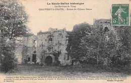 Chauvirey Le Chatel (70) - Ruines Du Château Dessus - France