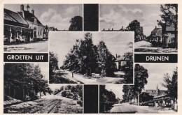3712 81  Groeten Uit Drunen  Multivues  1954 - Autres