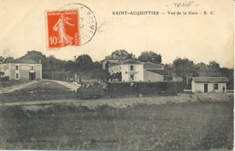 St-Acquittier-Vue De La Gare-E -C - Autres Communes