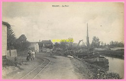 CPA POGNY Le Port - Frankreich