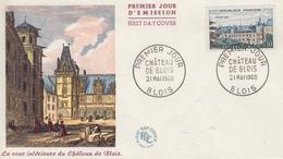 Enveloppe  FDC  1er  Jour   FRANCE   Chateau  De   BLOIS  1960 - 1960-1969