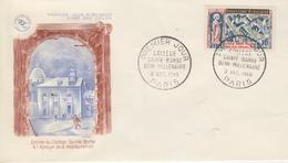Enveloppe  FDC  1er  Jour   FRANCE   Collége  SAINTE  BARBE  1960 - 1960-1969