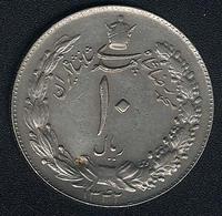 Iran, 10 Rials SH 1342 (=1963) - Iran