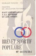 BREVET SPORTIF POPULAIRE - TOULOUSE - Cartes Postales