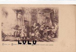 ASIE : Chine ; Précurseur : Dames De La Famille D Un Mandarin Jouant Aux Cartes  ( Jeu De Carte ) - Chine